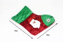 SDW-052 Yiwu caddy Mini Christmas sock for decoration