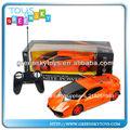 R 1:18/c juguete del coche 4 canales de simulación r/c juguete del coche