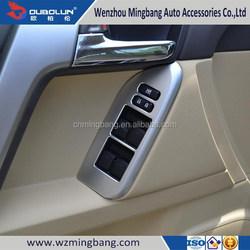 HOT SELL! for 2014 Toyota Land Cruiser Prado Exterior/interior Accessories ABS chrome Car door inner armrest handle cover