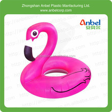 Inflatable swimming ring beach pool river float tube ring animal head ring