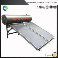 stainless steel tank flat panel solar water heater
