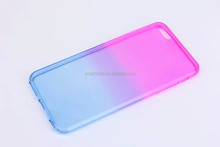 Gradient Rainbow TPU Soft Back Cover Case for iPhone 6 Plus 5.5 inch, TPU Soft Back Cover Case for iPhone 6 Plus 5.5 inch