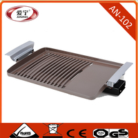 Electric Contact Grill Type and Optional Interchangeable Plates Electric Grill BBQ