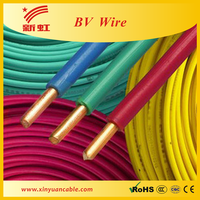 Best Quality PVC Insulated 2.5mm BV House Wiring Electrical Cable