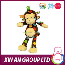 AE54/ASTM/ICTI/SEDEX top sweet and excellent wholesale plush monkey