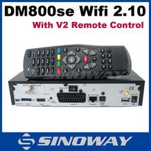DVB&Sunray&Dreambox 800 hd se Wifi Sim 2.10 DM800HD SE Enigma 2 Linux OS Digital Satellite Receiver DVB-S2 Dm800se Wifi