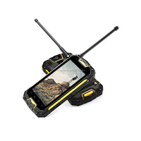 Snopow M8 IP68 4G-LTE full networks android 5.1 OTG NFC RFID wireless charge walkie talkie tough military mobile phone