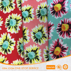 Hot sale free sample 100% polyester jacquard fabric for Autumn and winter garments