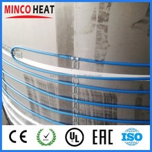 pvc insulated aluminium waterproofing 2 core shielded linear electric tape pipe heat tracking cable