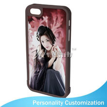 For Iphone 5 Sublimation Blank Phone Case 2D fashion metal bumper case for iphone