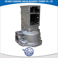 High pressure OEM Service Available According to Drawing HT200 WDT800 Tractor box shell zg45 casting