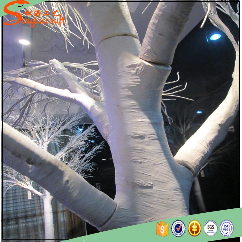 Guangzhou usine prix arbres artificiels tronc d coration - Tronc d arbre artificiel ...