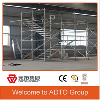 HDG Ringlock System Scaffolding for Wall Hanging Structure