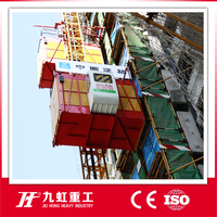 Famous brand outdoor construction elevator on sale (capacity of 2000kg)