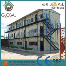 Low cost earthquake resistant prefab house made in china
