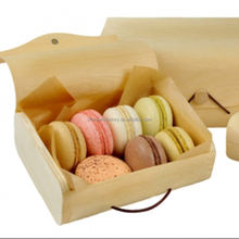 Pine wooden box / Disposable wooden box / Food wooden box