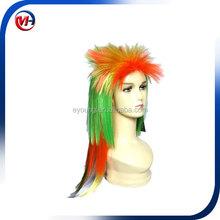 football wig fan wig party crazy wig