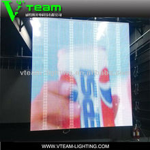 china sexy video curtain transparent led display