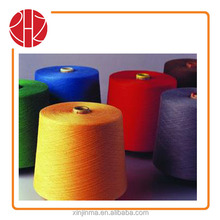 HOT SELL 100%BRIGHT ACRYLIC YARN RAW WHITE AND DYED FOR KNITTING CHINA MANFACTURER
