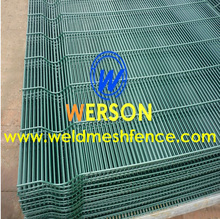 358 Weldmesh Security Fence