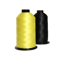 waterproof nylon bonded yarn elastic colored shoes thread