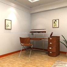 más nueva de madera muebles de diseño moderno mesa de ordenador de diseño