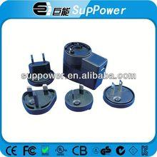UL,CE,FCC,GS,SAA,PSE,CEC V Level 12V 1.5A variable ac power supply transformer switching for led light US/EU/AU/UK plug