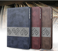 factory wholesale for apple ipad 6 leather case ipad air 2 case