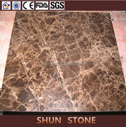 New Dark Emperador Marble Composite Tile Ceramic