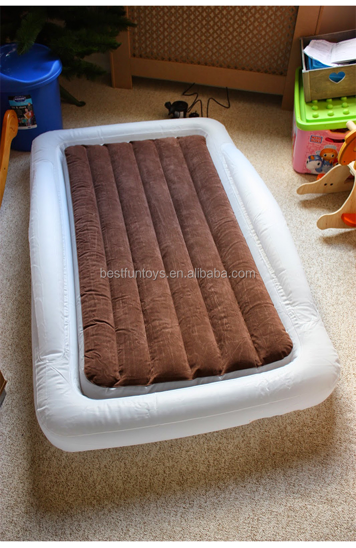 Flocking Inflatable Toddlers Bed Portable Inflatable Children ...