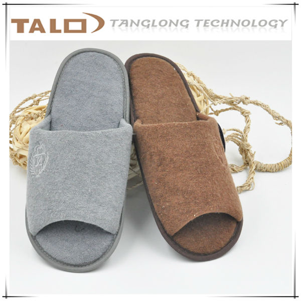 men slipper with TPR out sole for winter and autumn season