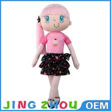 stuffed girl soft toy for sale,plush girl toys,plush lady girl dolls toy