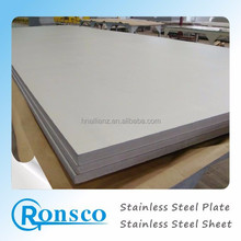 ASTM A240 raw material stainless steel 304 sheet for construction