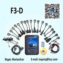 Fcar F3-D heavy duty truck y máquina diagnose escáner para cat, ud, hino, DOOSAN