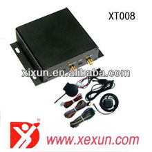 auto gps tracker devices security gps tracker for car/truck/taxi/bus XT008 with 2 ways communication and RFID