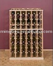 60 Bottle Deluxe Wine Rack with rang of color