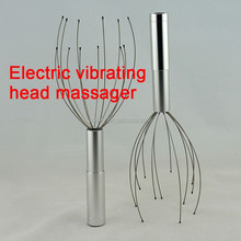 New Design Electric Vibrating Massager 3 AAA Dry Battery Power Head Massager