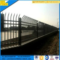 Boundary Galvanizing Steel Sheet Industrial Safety Fence