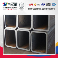 Hot sale good price schedule 40 square and rectangular black square steel pipe China supplier