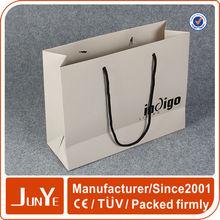 Handmade custom supply luxury brands paper bag factory
