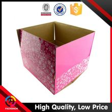 Popular Design Custom Printed Logo Invitation Popular Paper Packing Box