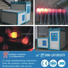 Standard parts heating induction forging installation