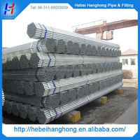 China Trade Assurance Manufacturer powder coated galvanized steel pipe