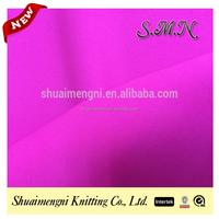 Shiny nylon yarn dyed elastic Resistance to chlorine swimwear fabric