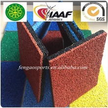 Types of Outdoor Running Track Surfaces with Rubber Granules