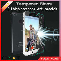 2014 HD 0.33mm ultra thin Tempered glass protection film for iphone6 6 plus screen protector Mobile phone accessory