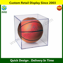 Grand Stand Basketball / Holder Acrylic Display Case (Soccer Balls / Volleyballs) YM5-979
