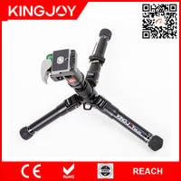 Kingjoy high quality photography equipment extendable tripods for dslr MM-255+QA-01
