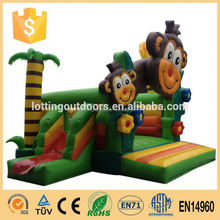 2015 New design EN14960 inflatable water football pitch