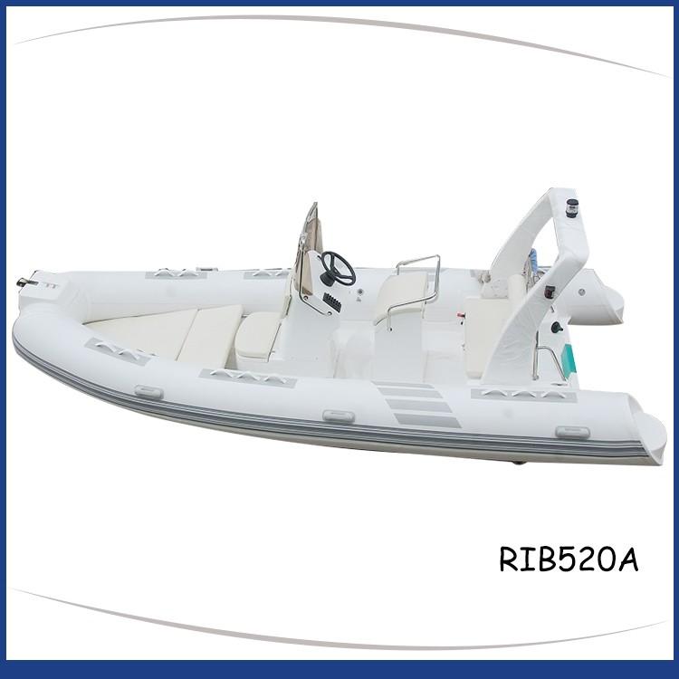 White_rigid_inflatable_boat_frp_roll_bar_RIB520A-3